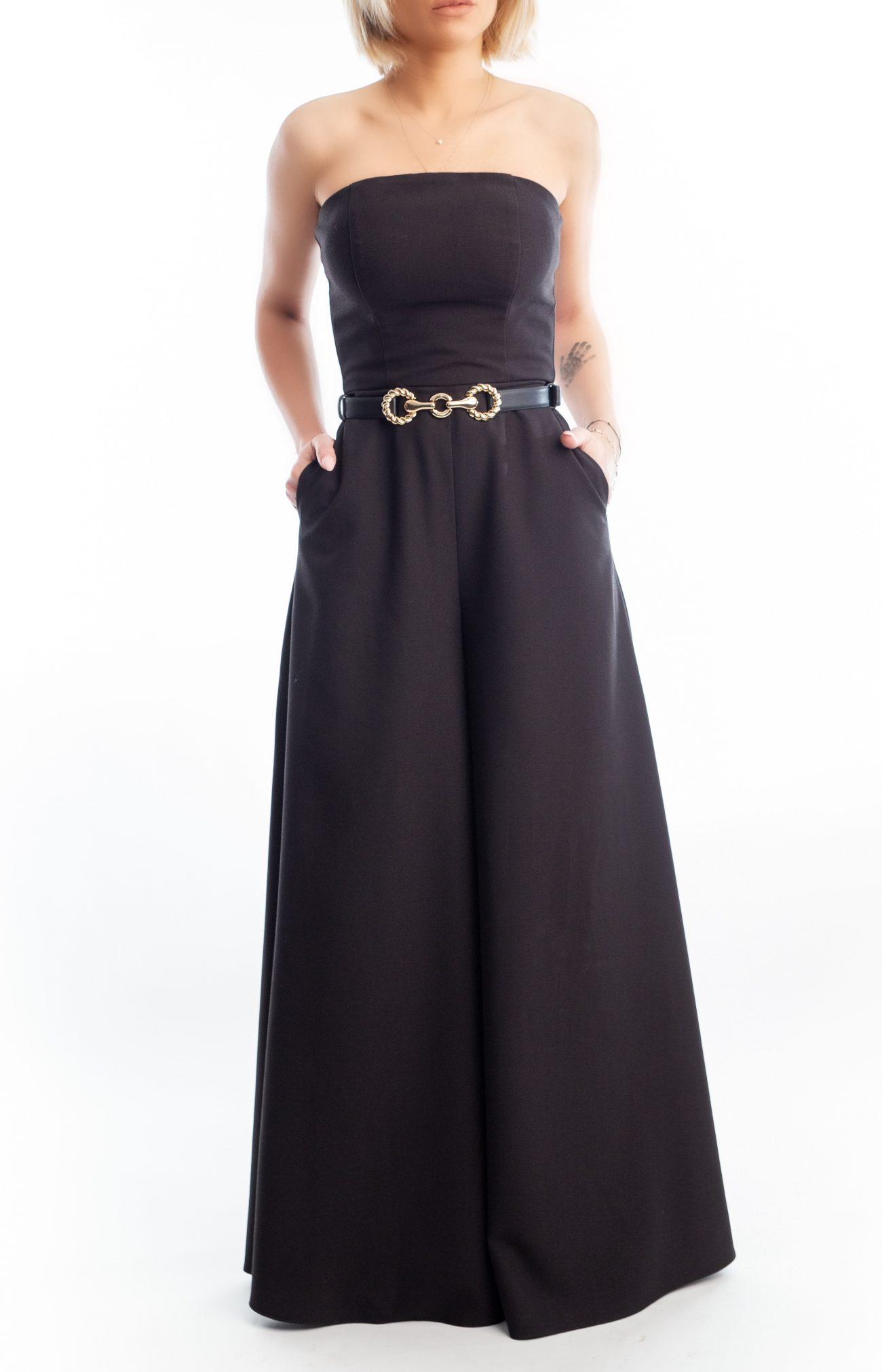 Salopeta Iris - Salopeta pe structura de corset cu buzunare | Essalian.com - Email: office@essalian.com | 0744957107 | Bucuresti